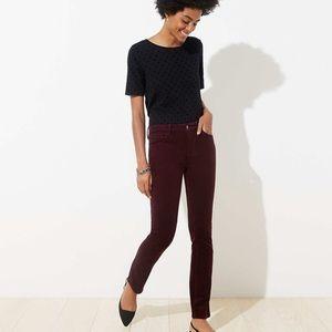 Ann Taylor Loft Straight Leg Corduroy Pants